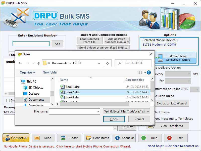 Pocket PC Bulk SMS